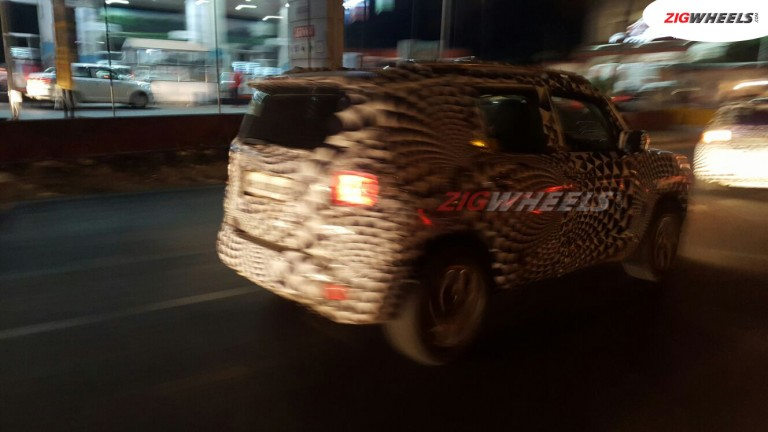Jeep renegade spied 1