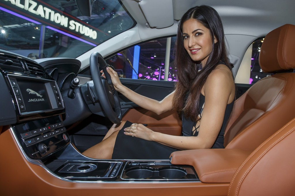 Katrina Kaif in the All-New Jaguar XE
