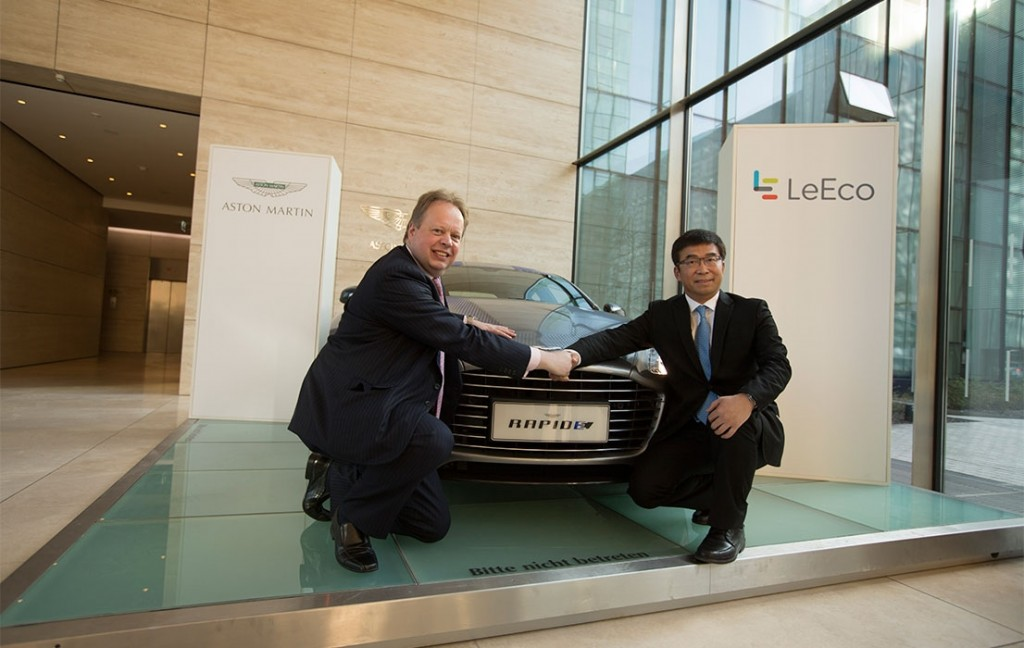 LeEco and Aston Martin