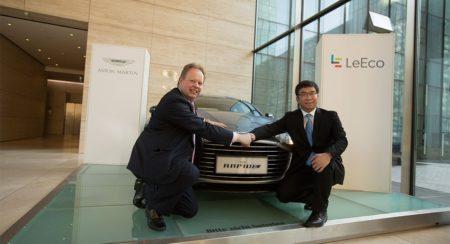 LeEco and Aston Martin
