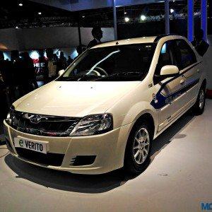 Auto Expo 2016: Mahindra E-Verito electric sedan unveiled