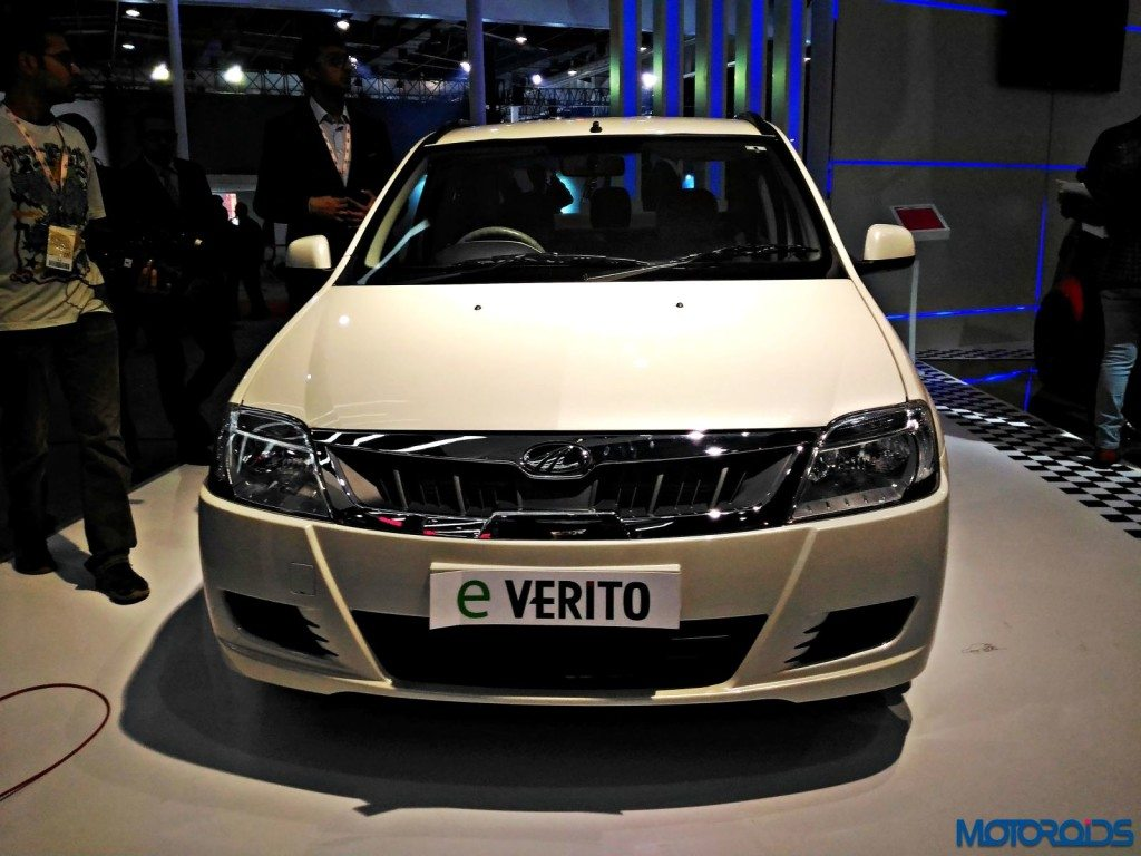 Mahindra E-Verito - Auto Expo 2016 (3)