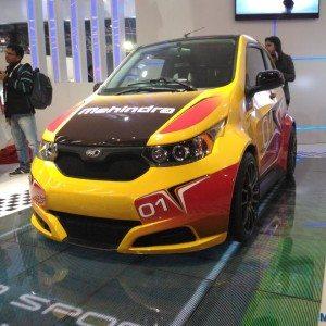 Auto Expo 2016 : Mahindra E2O Sport unveiled, does 0-100 km/h in 8 sec