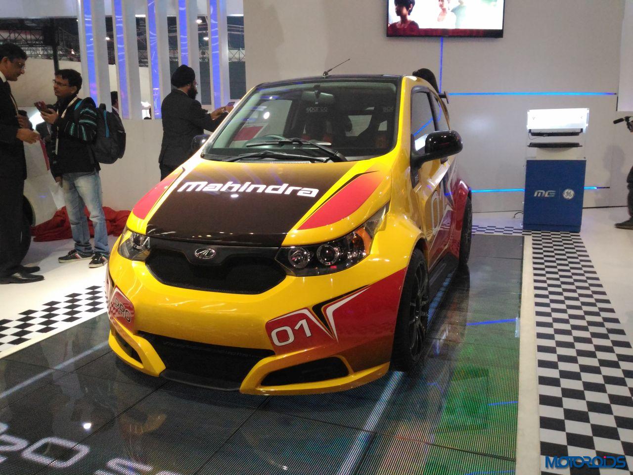 Mahindra E2O Sport Auto Expo 2016 (14)