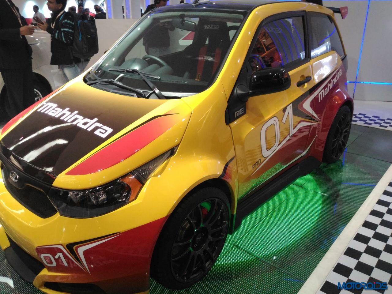 Mahindra E2O Sport Auto Expo 2016 (15)