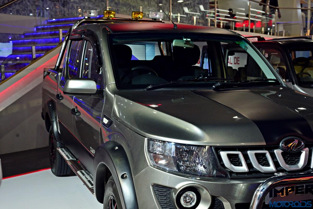 Auto Expo 2016 Modified Mahindra Imperio Double Cab