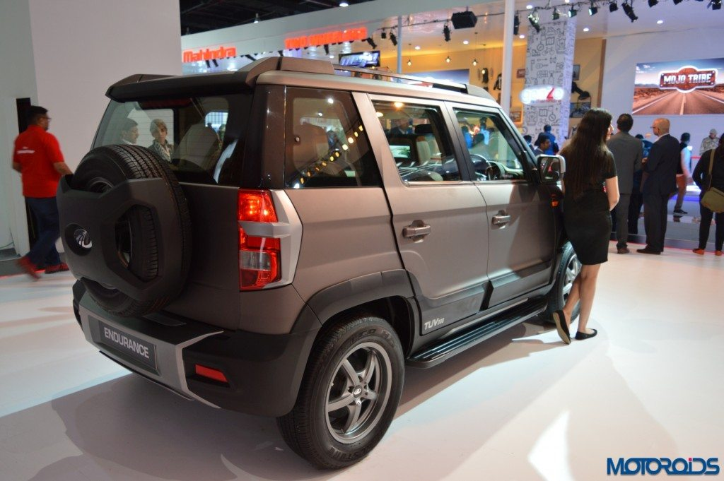 Auto Expo 2016 Mahindra Tuv300 Endurance Gets Added