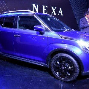 Auto Expo 2016: Maruti Suzuki Ignis Concept showcased