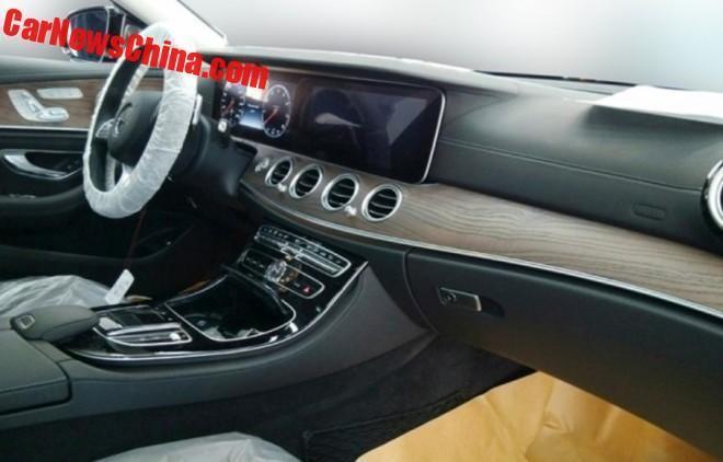 Mercedes Benz E-class LWB interiors
