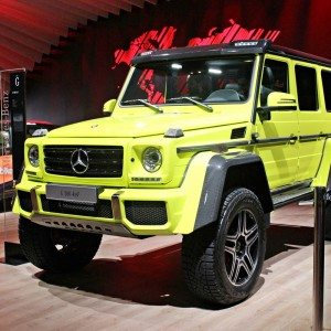 Auto Expo 2016: Mercedes-Benz G 500 4×4² makes India début; towers above the rest