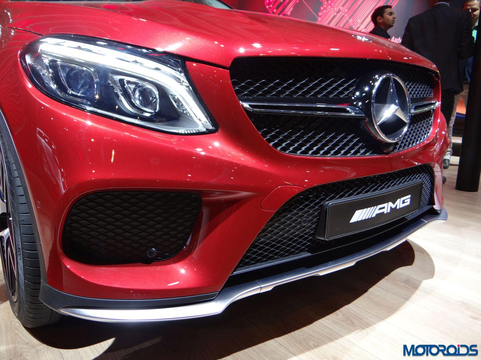 Mercedes Cars At Auto Expo 2016 Mercedes Benz At Delhi: Auto Expo 2016: Mercedes Benz Showcases The AMG GT, GLE