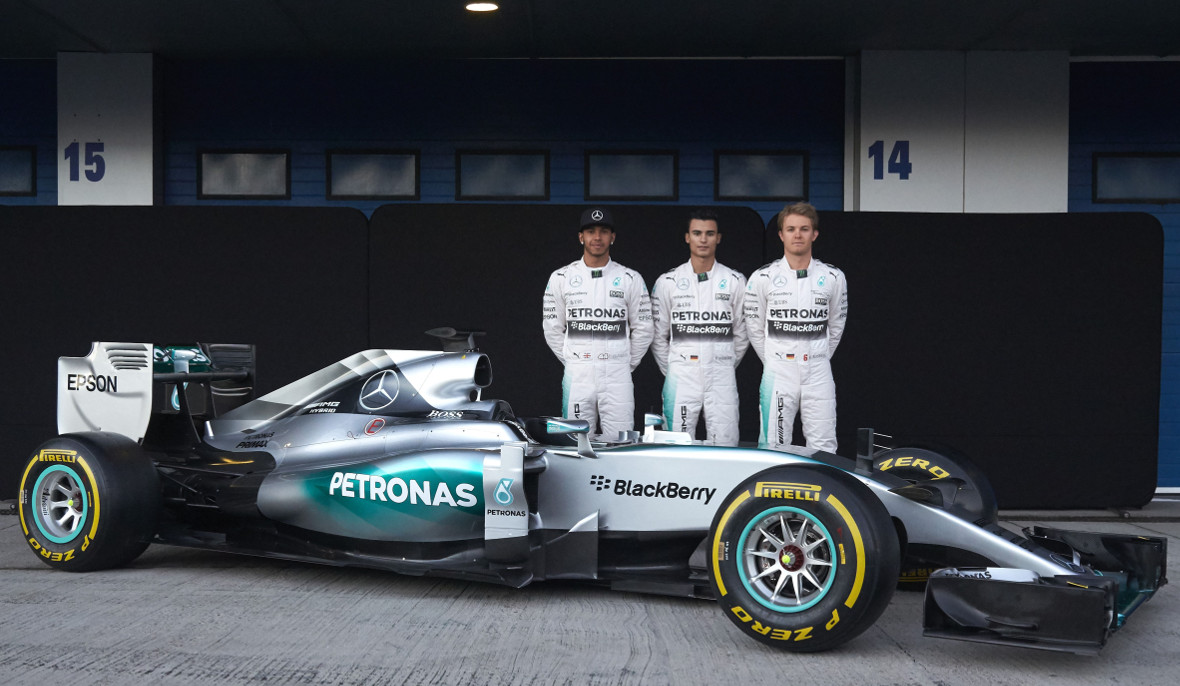 Mercedes-Hybrid - F1 Car