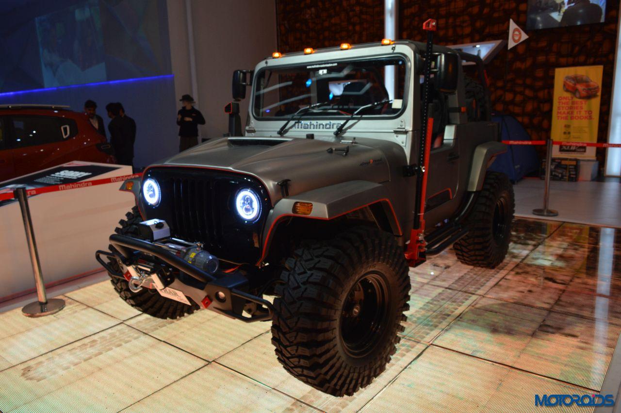 Modified Mahindra Thar Auto Expo (1)