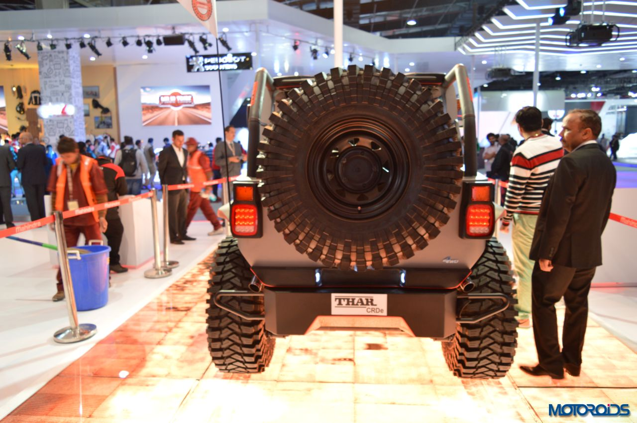Modified Mahindra Thar Auto Expo (2)