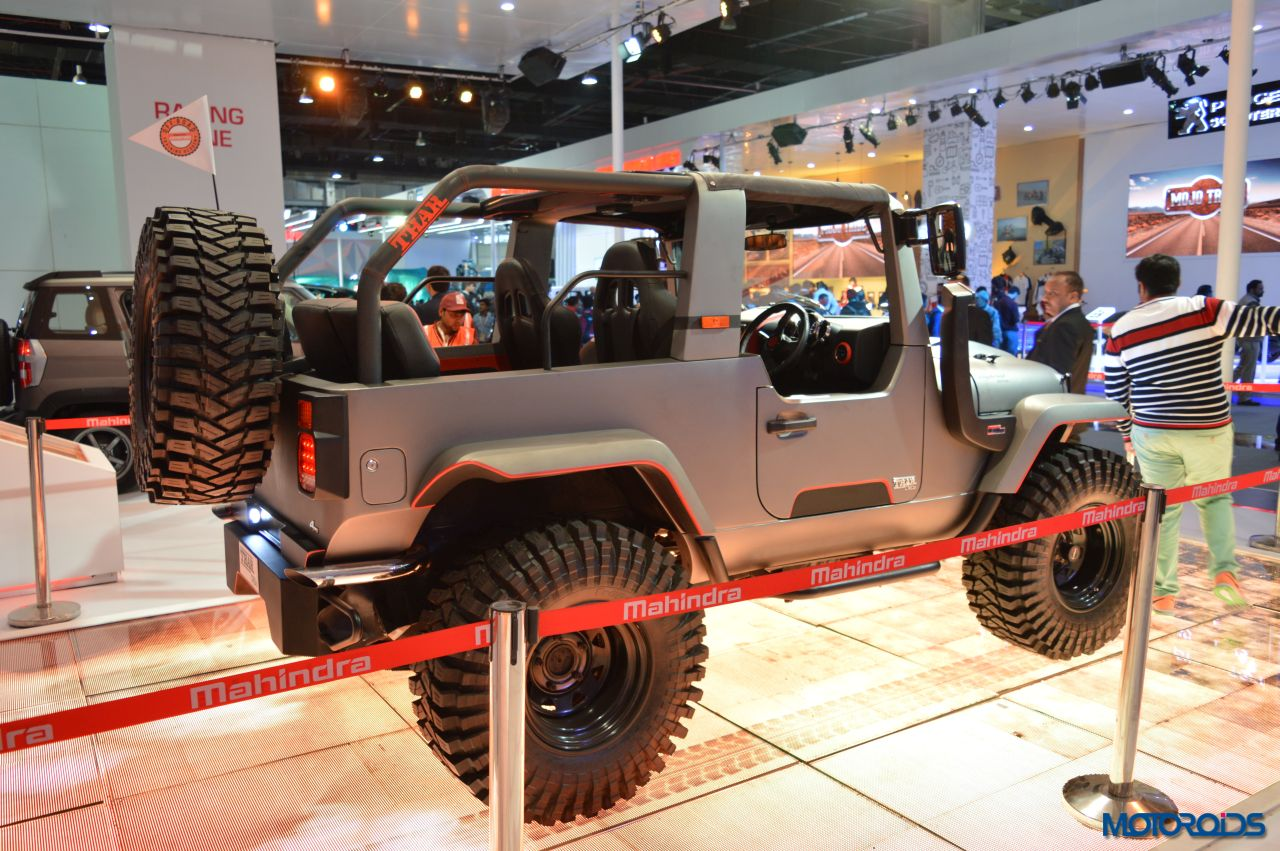 Modified Mahindra Thar Auto Expo (3)
