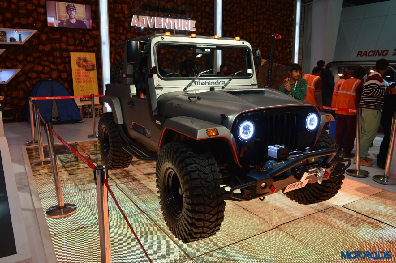 Modified Mahindra Thar Auto Expo (4)