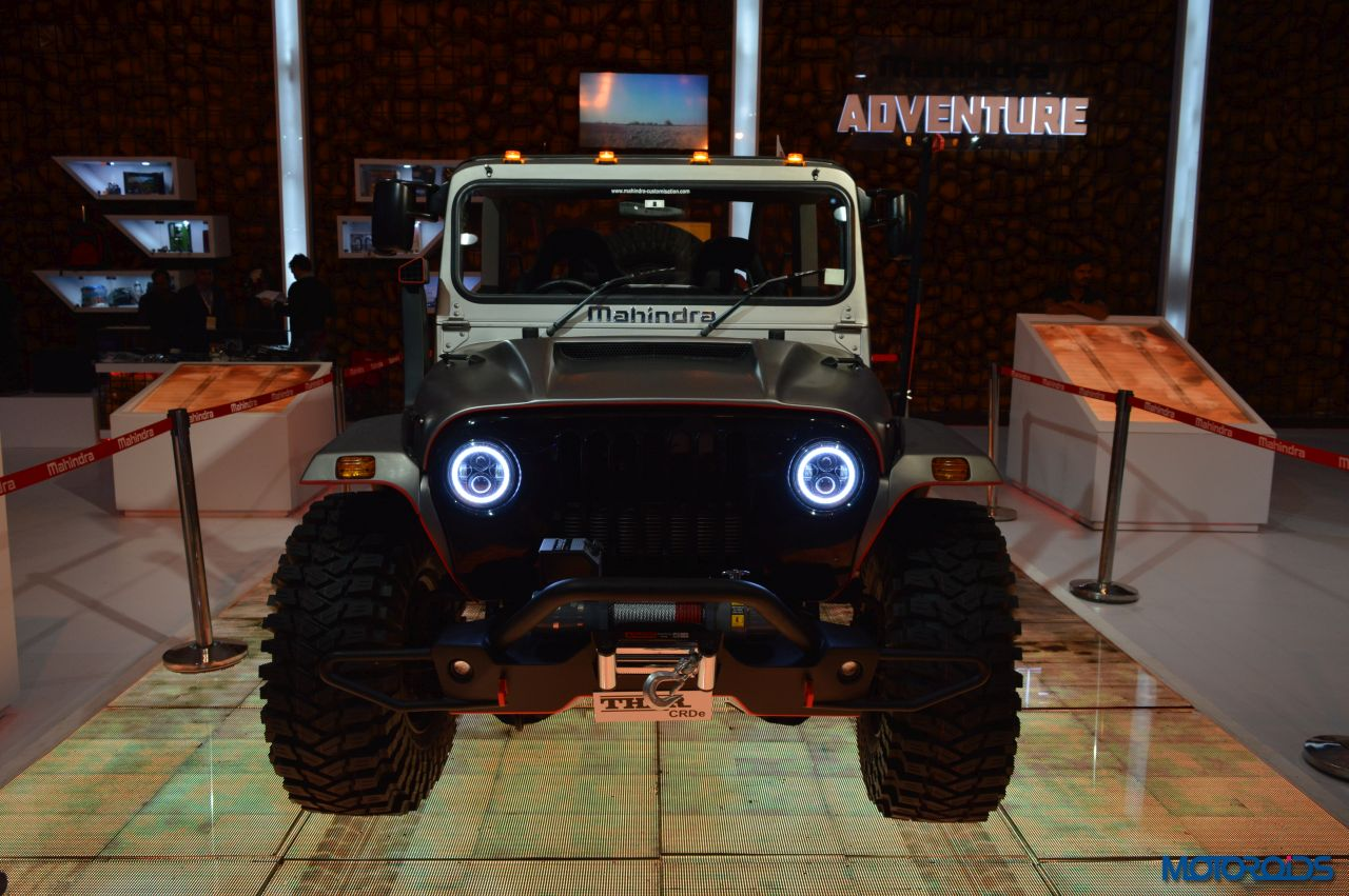 2016 Auto Expo This Modified Mahindra Thar Looks Like An
