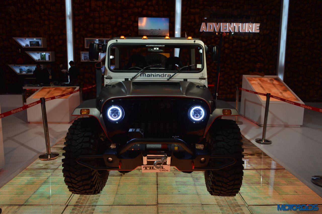 2016 Auto Expo This Modified Mahindra Thar Looks Like An