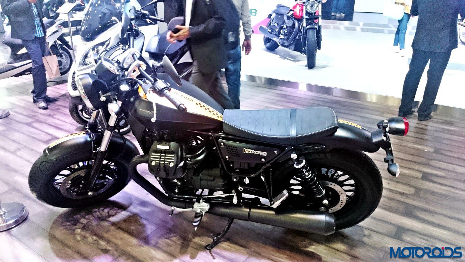 Moto Guzzi V9 Bobber - Auto Expo 2016