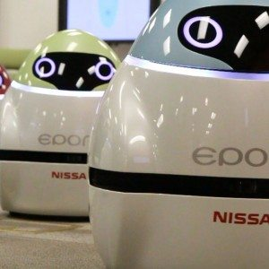 [Video] Auto Expo 2016: Nissan Eporo robots showcased, along with a dedicated cricket zone for fans