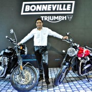 New 2016 Bonneville Range Auto Expo 2016 2 180x180 Auto Expo 2016: New 2016 Bonneville motorcycles launched in India