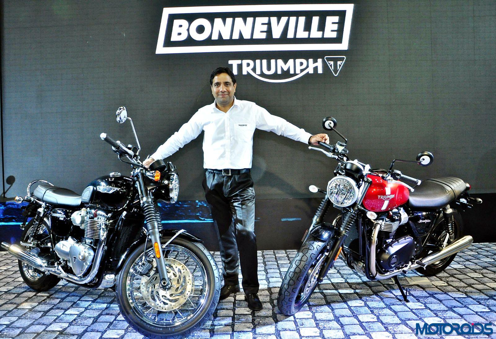 New 2016 Bonneville Range - Auto Expo 2016 (2)