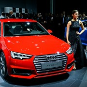 New Audi A4 1 180x180 Auto Expo 2016: All new Audi A4 showcased in India for the first time
