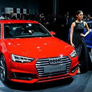 Auto Expo 2016: All-new Audi A4 showcased in India for the first time