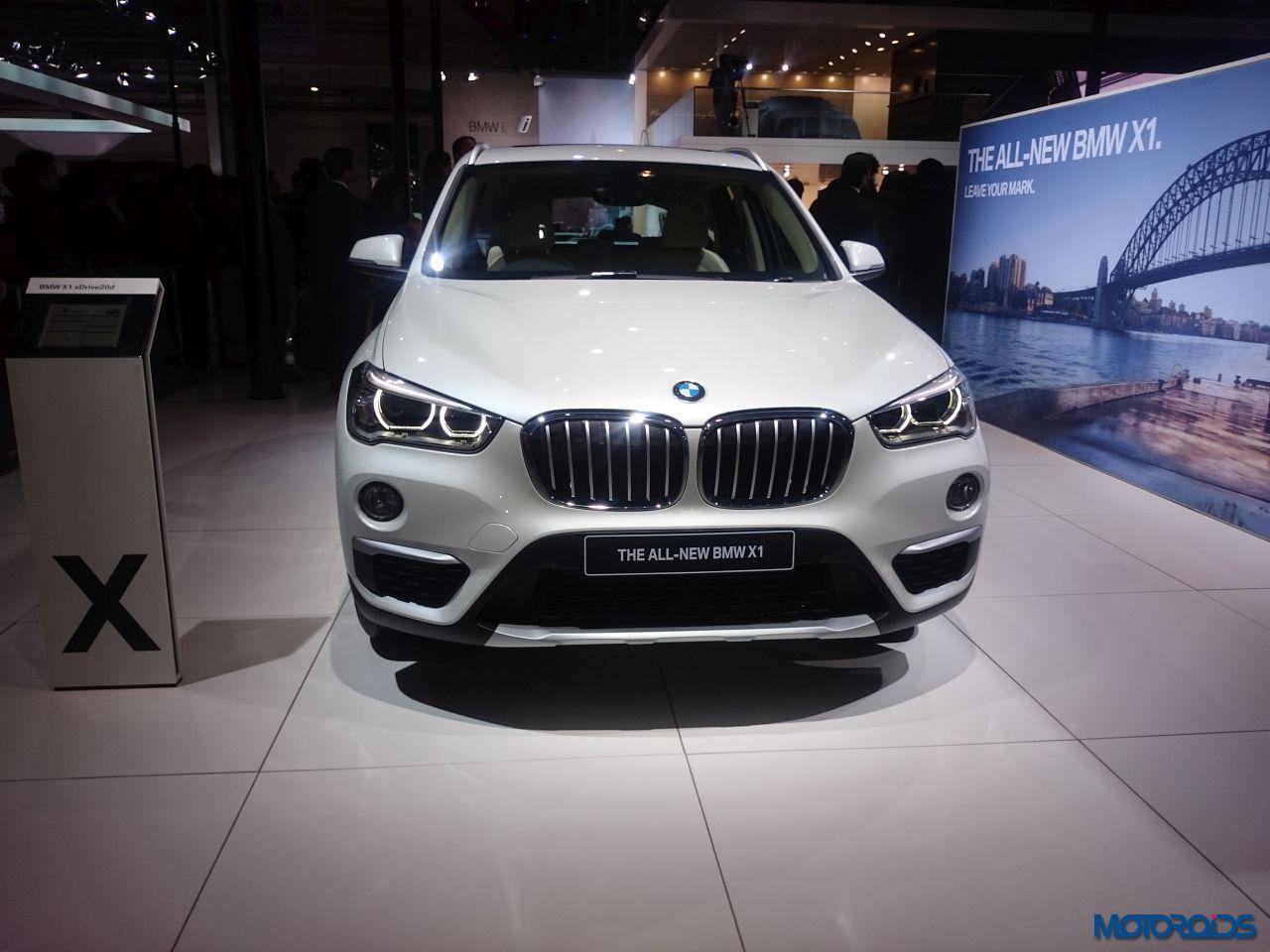 New BMW X1 Auto Expo 2016