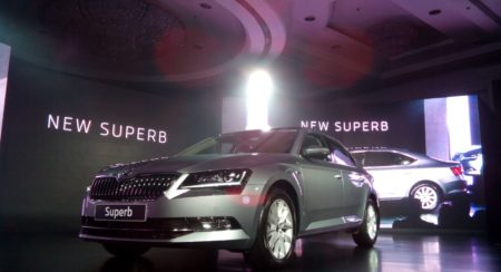 New Skoda Superb India launch image 6