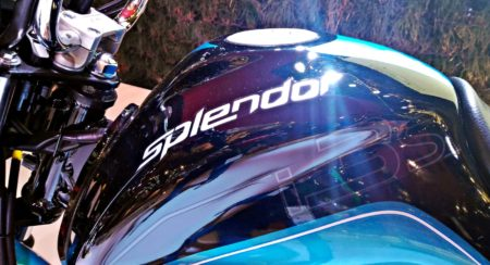 New hero Splendor iSmart - Auto Expo 2016 (6)