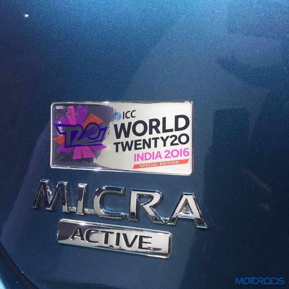 Nissan Micra ICC edition logo