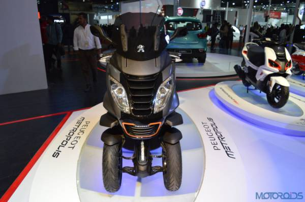 Peugeot Metropolis at the Auto Expo 2016 (4)