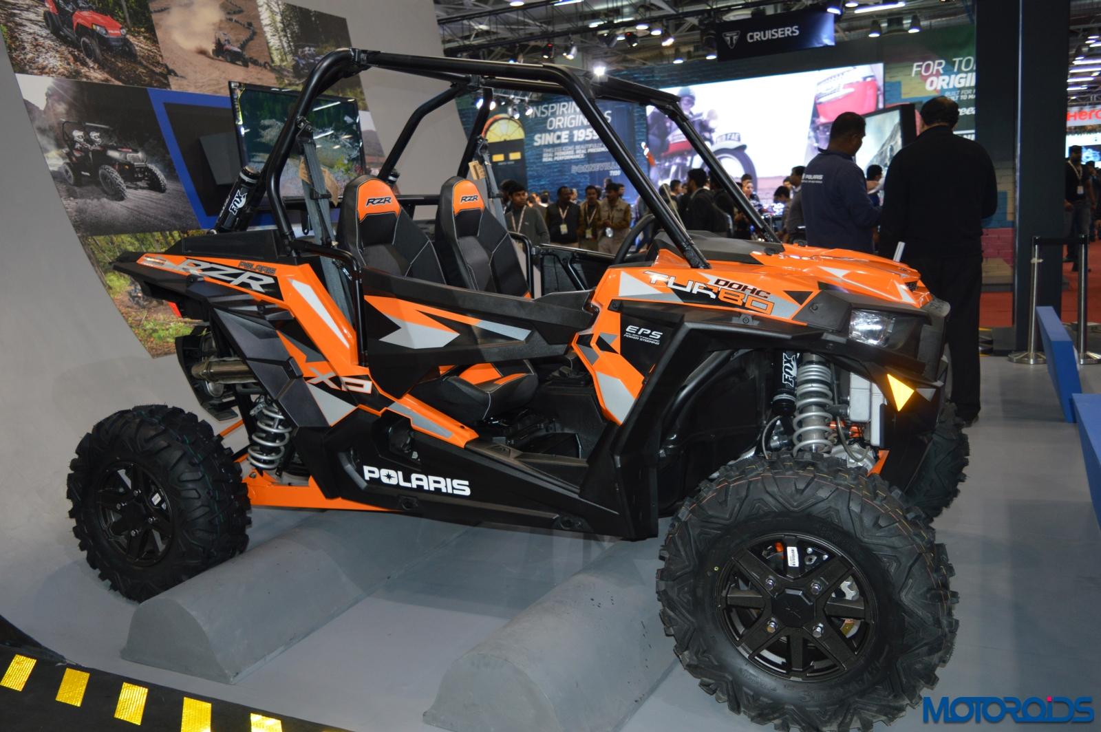 Auto Expo 2016: Polaris RZR XP Turbo EPS and the Sportsman ...