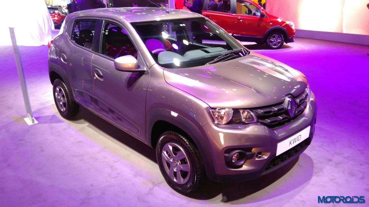 auto expo 2016 renault kwid 1 0 sce and easy r with amt. Black Bedroom Furniture Sets. Home Design Ideas