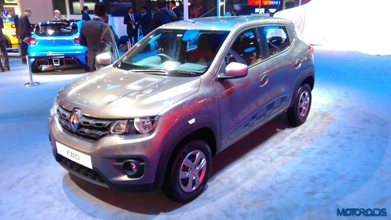 Renault KWID 1.0 Easy-R AMT Auto Expo 2016 (3)