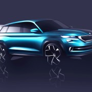 Skoda VisionS design study 2 180x180 Skoda unveils its VisionS SUV Design Study:  Previews the India bound Kodiak 7 seater