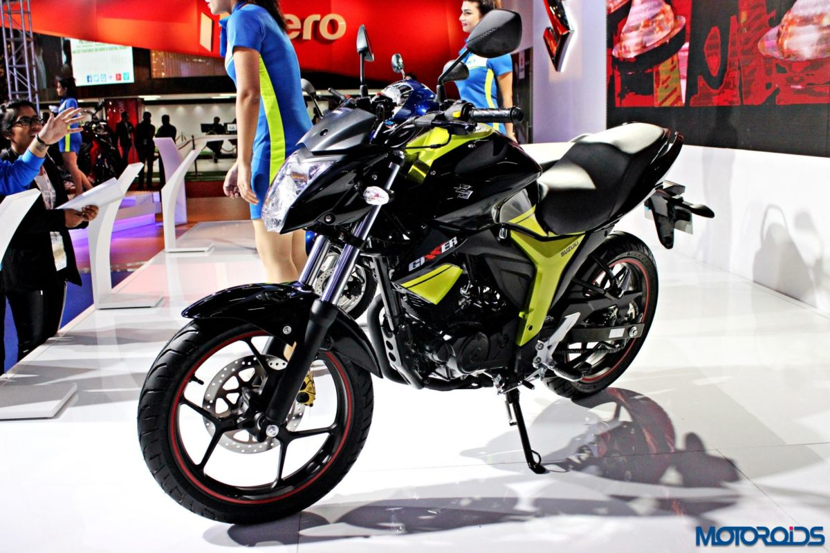 Suzuki Gixxer 155 and Gixxer SF – Auto Expo 2016 (13)