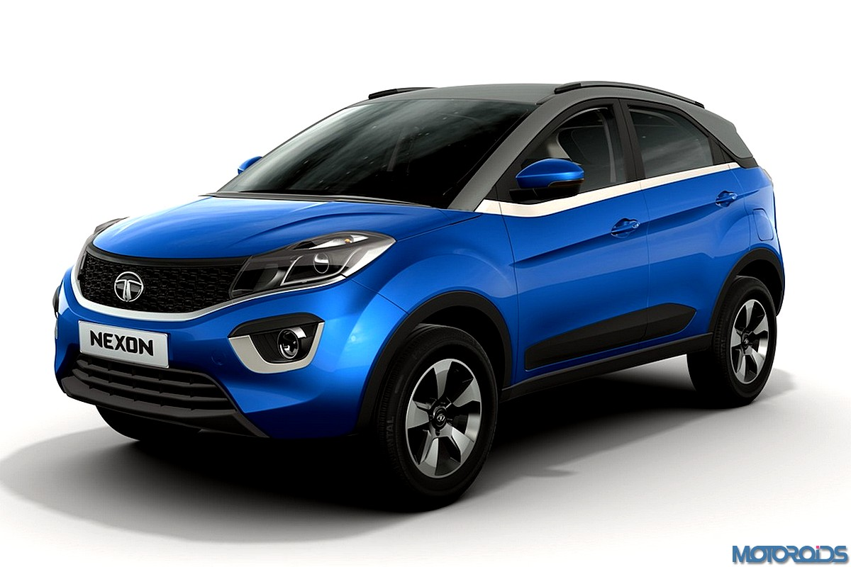 Production Ready Tata Nexon Spotted India Launch Likely