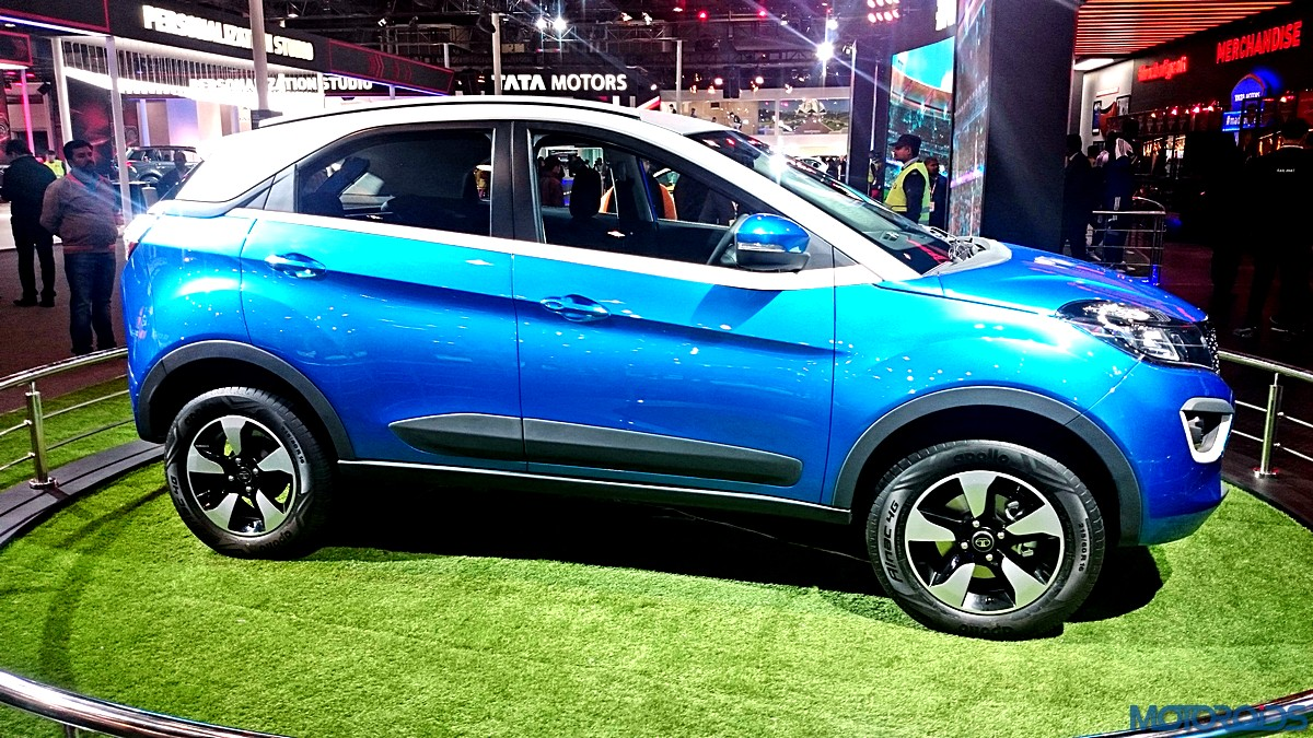 Tata Nexon Spotted With Amt Transmission To Arrive By End