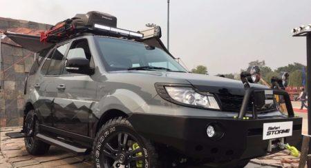 Tata Safari Storme Tuff Auto Expo 2016