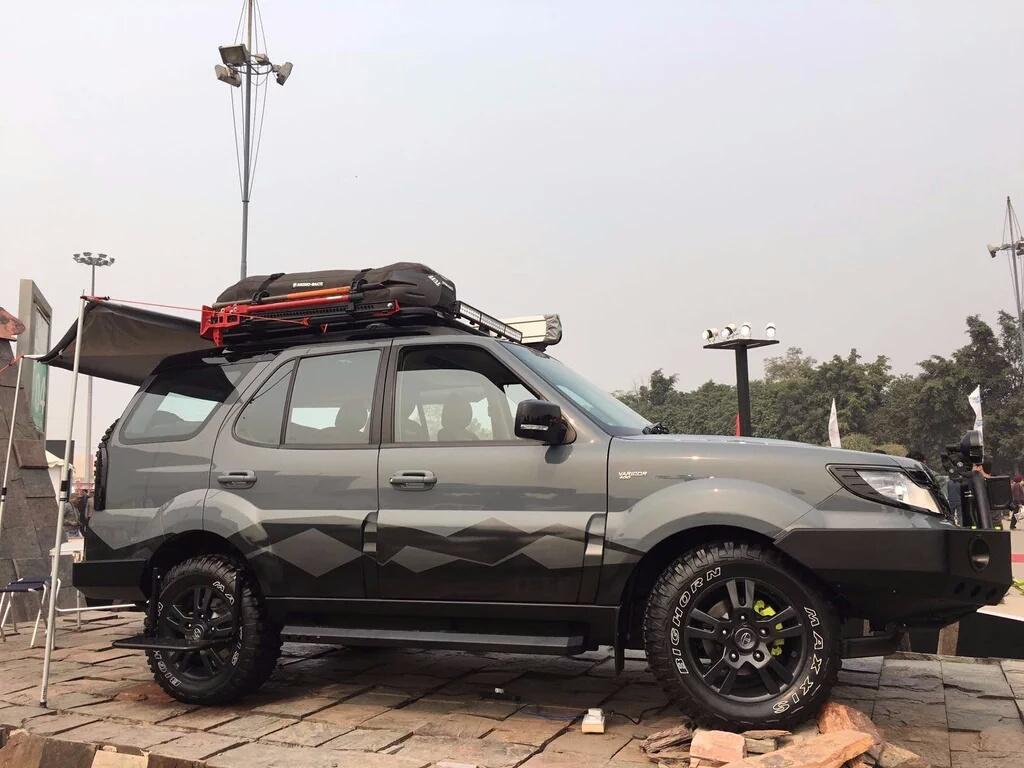 Auto Expo 2016 Tata Safari Storme Tuff Looks Ready To