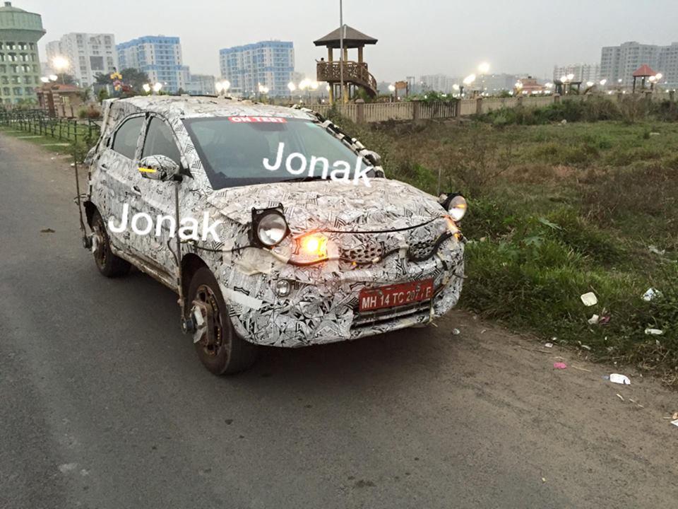 Tata nexon spy image Kolkata