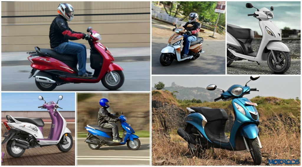 Top 5 Fuel efficient Scoots