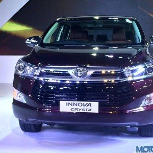 Toyota Innova Crysta features leaked through spy brouchure images