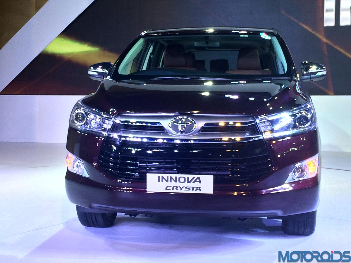 Toyota Innova Crysta Features Leaked Through Spy Brouchure