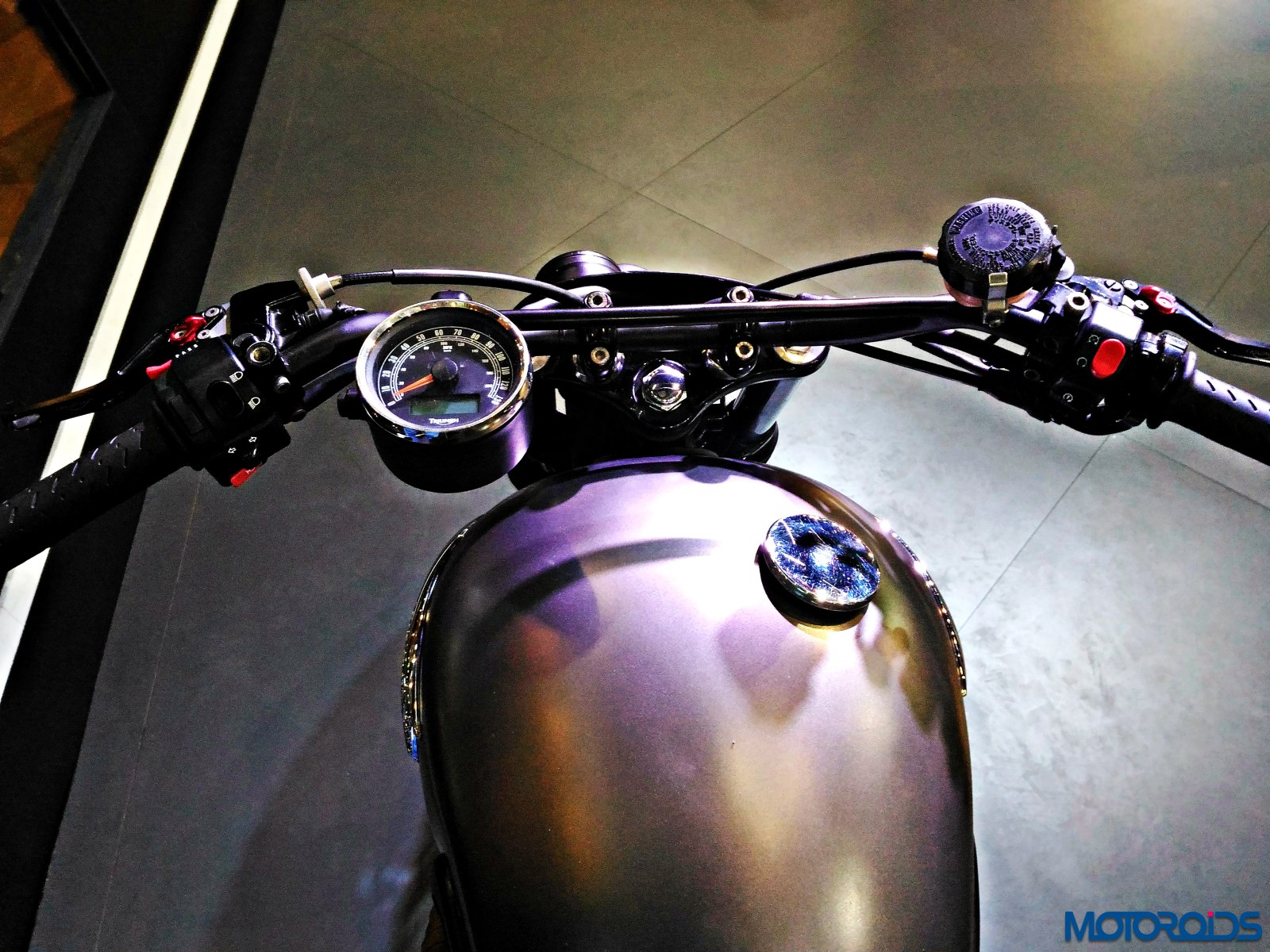 Triumph Bonneville Rajputana Customs Auto Expo 2016 (13)