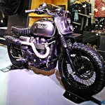 Triumph Bonneville Rajputana Customs Auto Expo 2016 3 150x150 Auto Expo 2016 : Triumph Bonneville Scrambler by Rajputana Custom is sublime