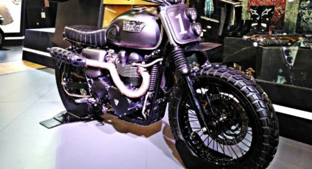 Triumph Bonneville Rajputana Customs Auto Expo 2016 (3)
