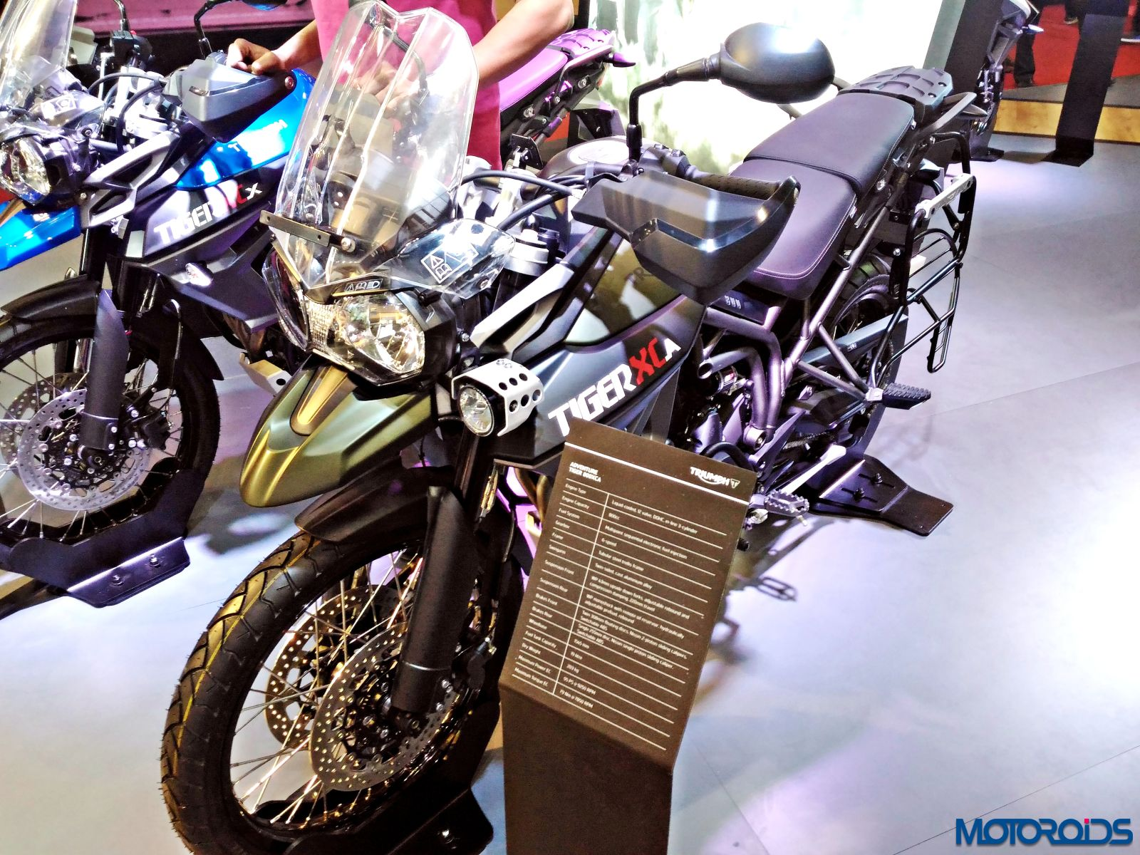 Triumph Motorcycles Stand - Auto Expo 2016 (121)